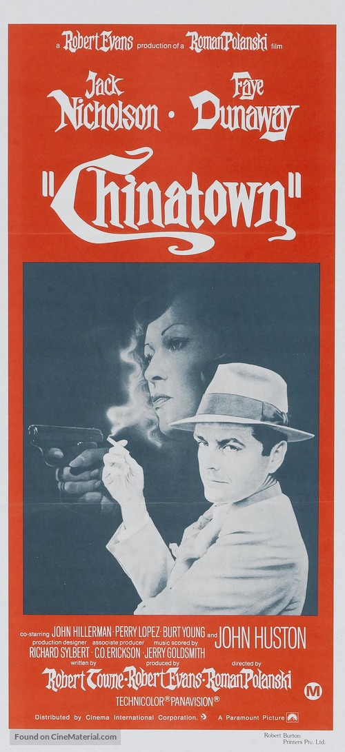 Chinatown - Australian Movie Poster
