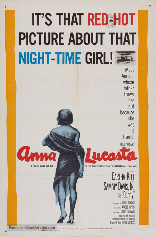 Anna Lucasta - Movie Poster