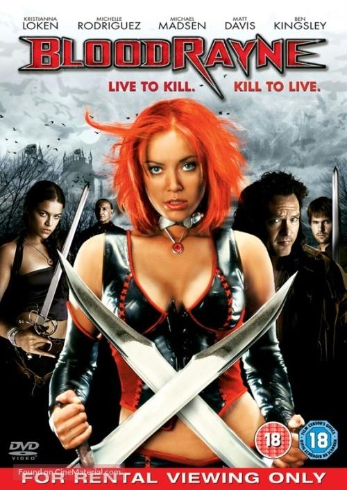 Bloodrayne - British Movie Cover