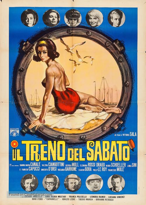 Il treno del sabato - Italian Movie Poster
