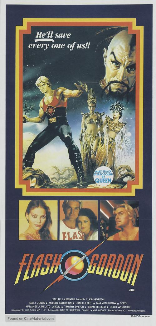 Flash Gordon - Australian Movie Poster