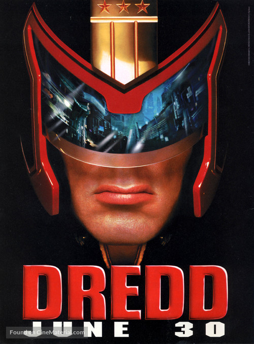 Judge Dredd - Movie Poster