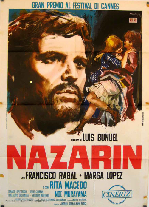 Nazarín - Italian Movie Poster