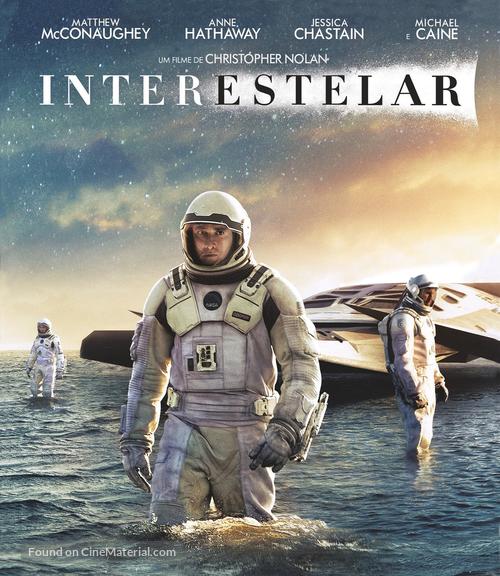 Interstellar - Brazilian Blu-Ray movie cover