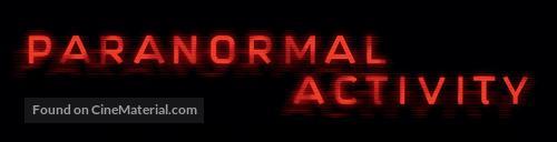 Paranormal Activity - Logo