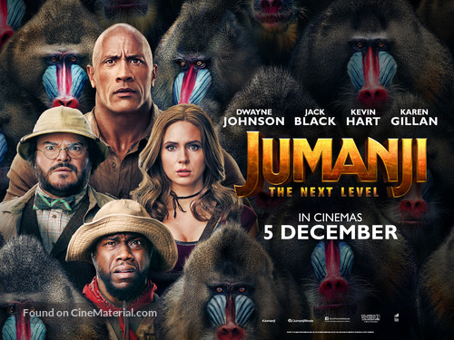 Jumanji: The Next Level - Malaysian Movie Poster