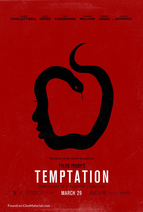 Temptation: Confessions of a Marriage Counselor - Movie Poster