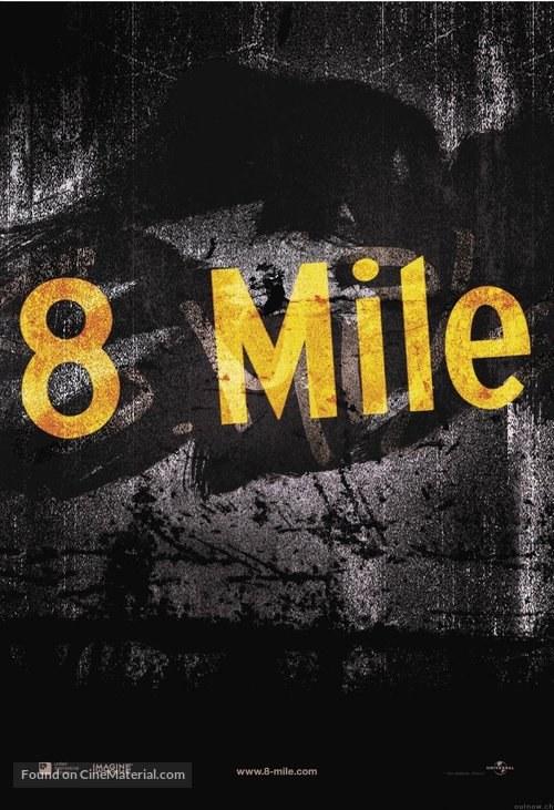 8 Mile - Movie Poster