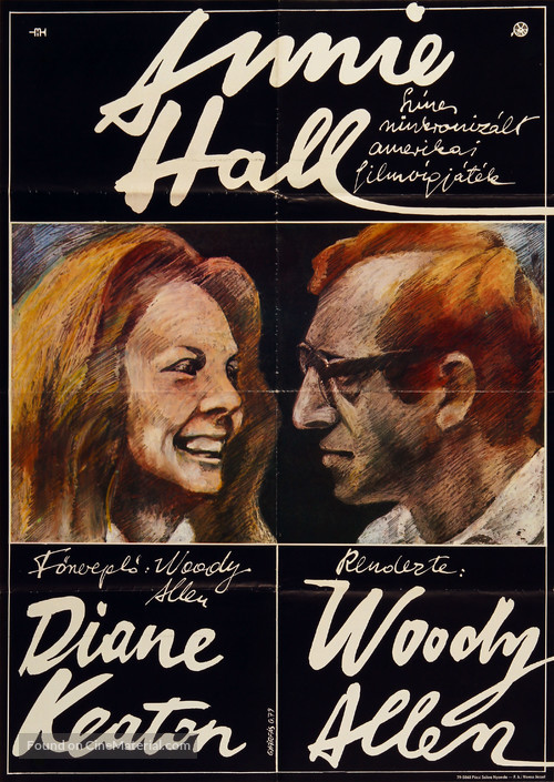 Annie Hall - Hungarian Movie Poster