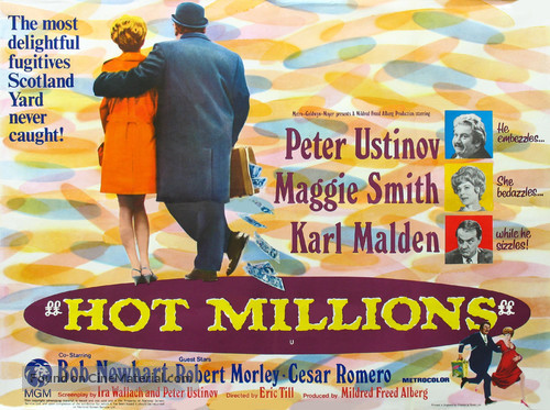 Hot Millions - British Movie Poster