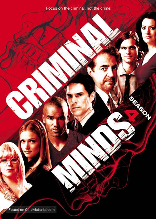 """Criminal Minds"" - DVD movie cover"