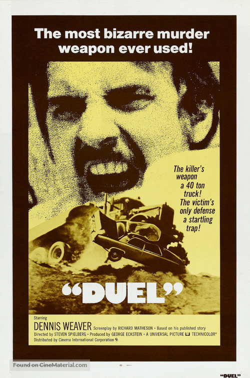 Duel - Theatrical movie poster