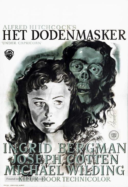 Under Capricorn - Dutch Movie Poster