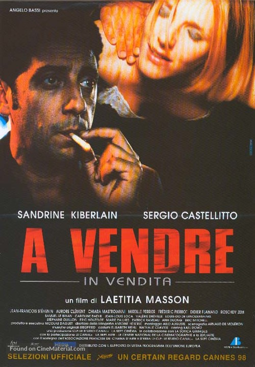 À vendre - Italian Movie Poster