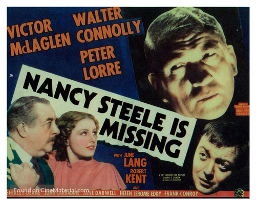 Nancy Steele Is Missing! - Movie Poster