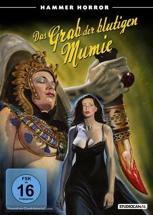 Blood from the Mummy's Tomb - German Movie Cover