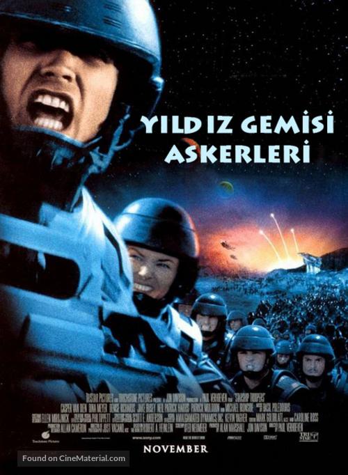 Starship Troopers - Turkish Movie Poster