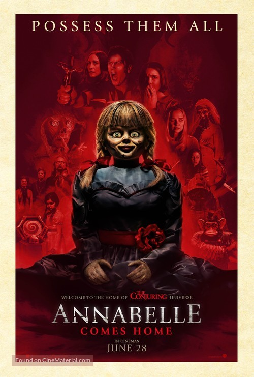 Annabelle Comes Home - British Movie Poster