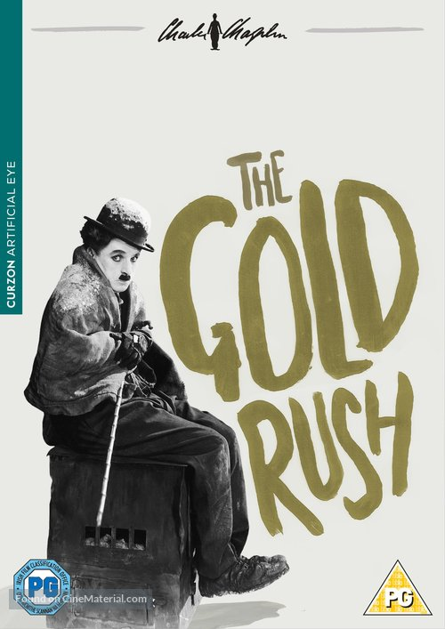The Gold Rush - British DVD movie cover