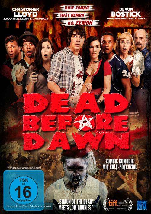 Dead Before Dawn 3D - German DVD movie cover
