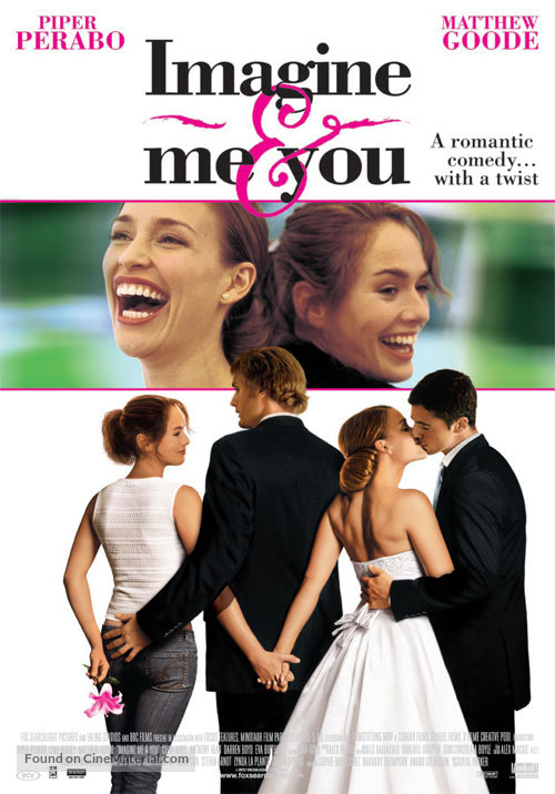 Imagine Me & You - Dutch Movie Poster
