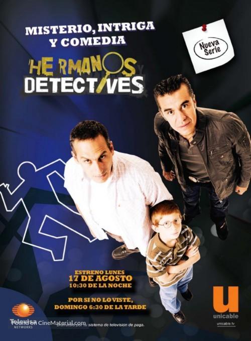 """""""Hermanos y detectives"""" - Movie Poster"""