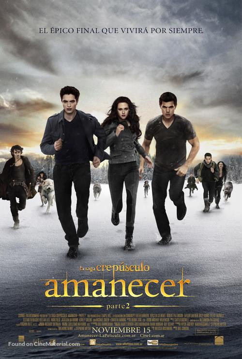 The Twilight Saga: Breaking Dawn - Part 2 - Argentinian Movie Poster