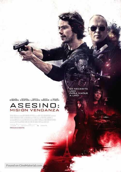 American Assassin - Colombian Movie Poster
