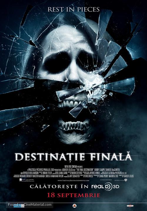 The Final Destination - Romanian Movie Poster