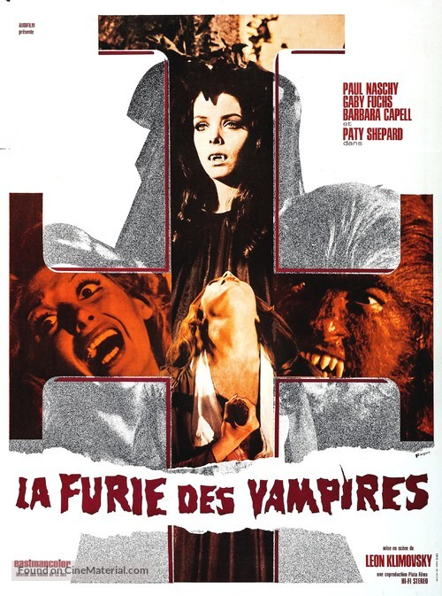 La noche de Walpurgis - French Movie Poster