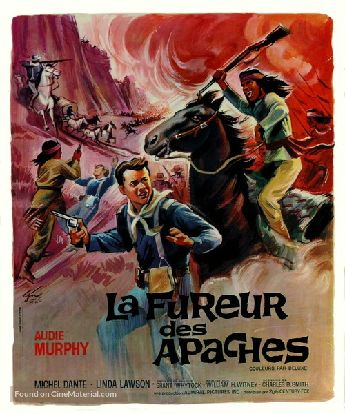 Apache Rifles - French Movie Poster
