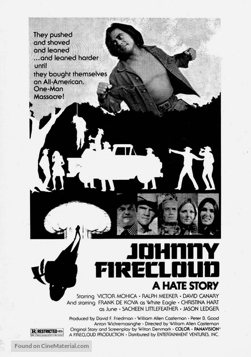 Johnny Firecloud - Movie Poster
