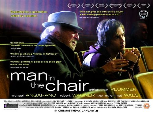 Man in the Chair - British poster