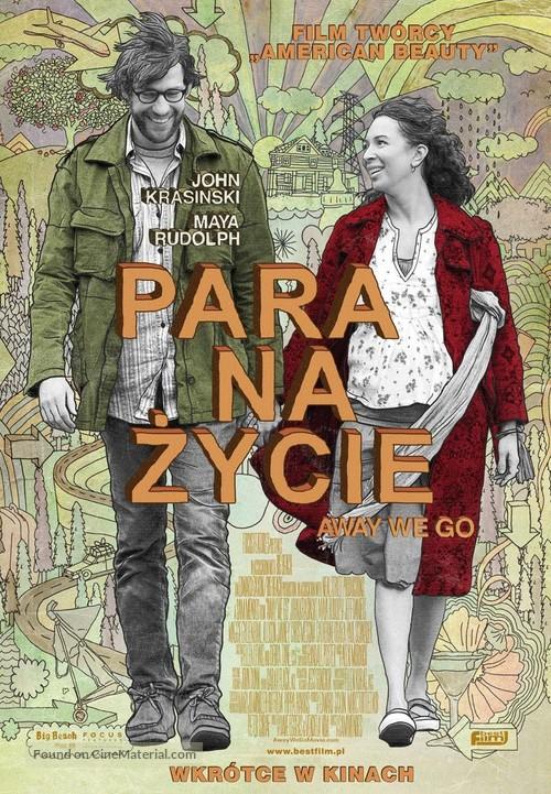 Away We Go - Polish Movie Poster