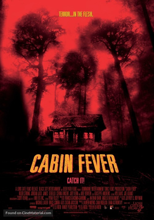 Cabin Fever - Theatrical movie poster