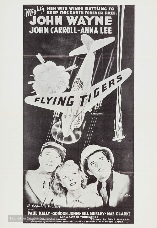 Flying Tigers - Movie Poster