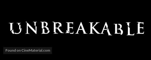 Unbreakable - British Logo