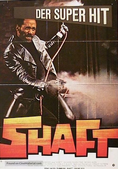 Shaft - German Movie Poster