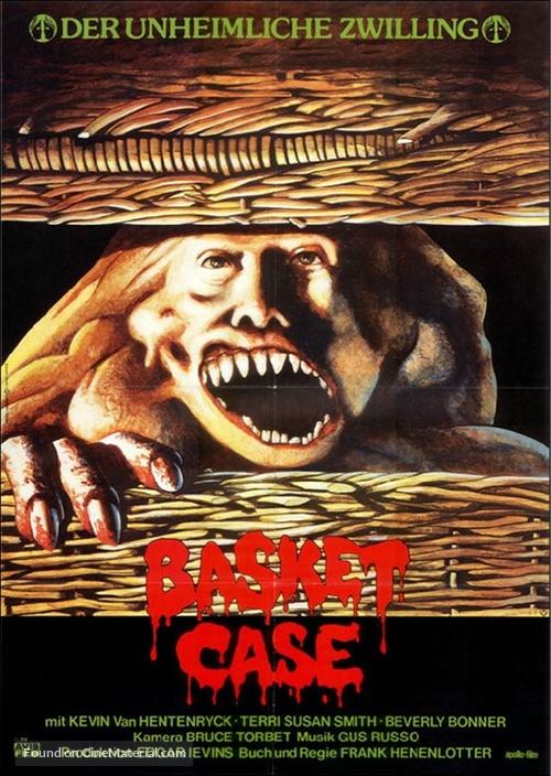Basket Case - German Movie Poster