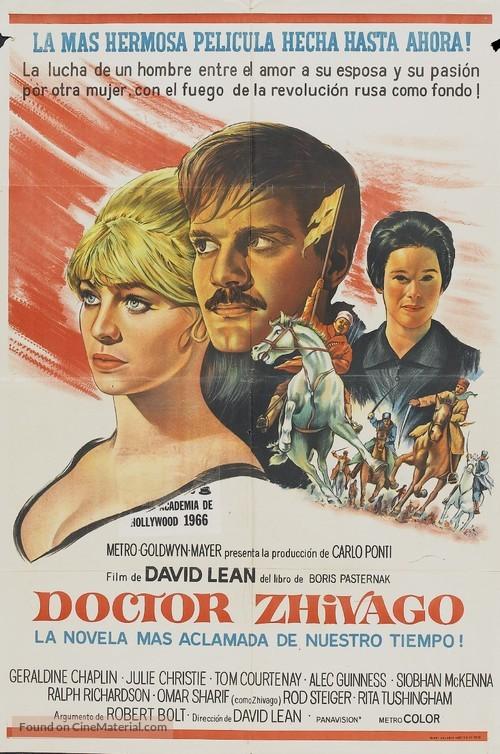 Doctor Zhivago - Argentinian Movie Poster