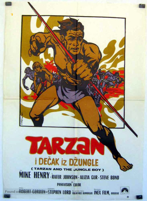 Tarzan and the Jungle Boy - Polish Movie Poster