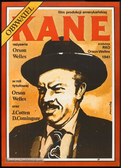 Citizen Kane - Polish Movie Poster