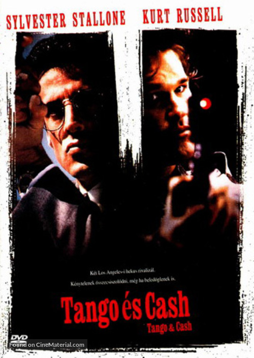 Tango And Cash - Hungarian DVD movie cover