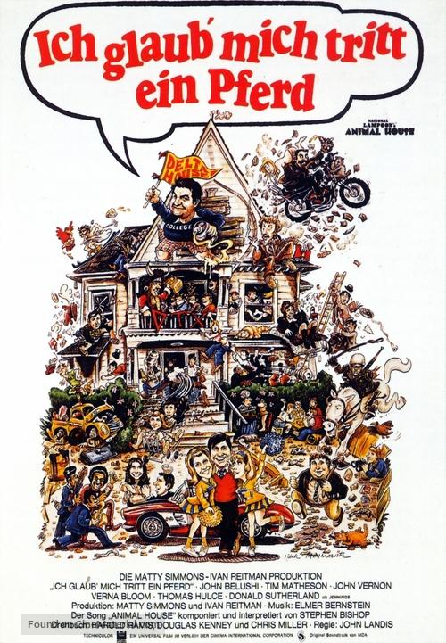 Animal House - German Movie Poster