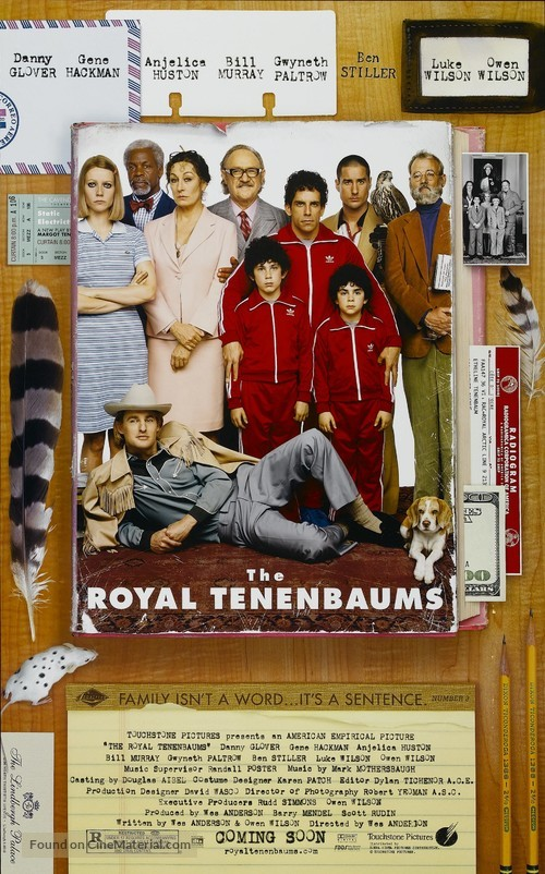 The Royal Tenenbaums - Movie Poster