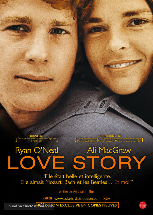 Love Story - French Movie Poster