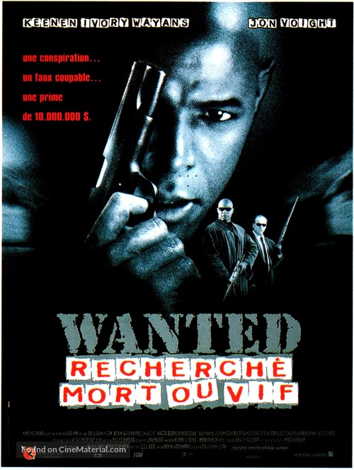 Most Wanted - French Movie Poster