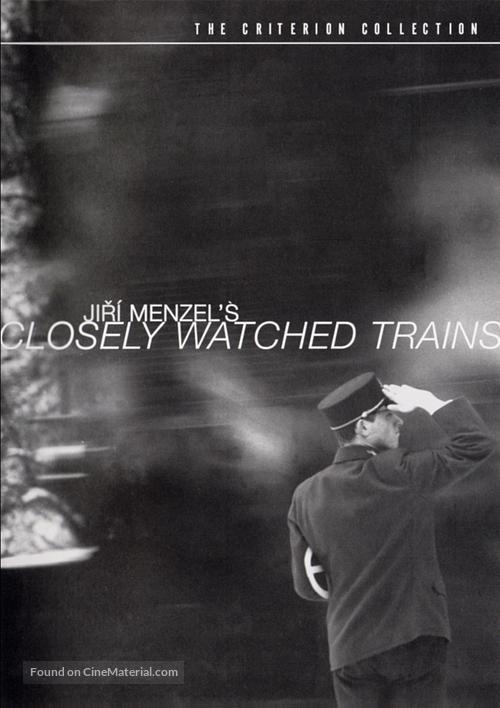 Ostre sledované vlaky - DVD movie cover