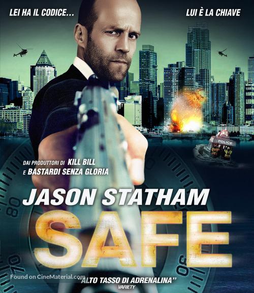 Safe - Italian Blu-Ray movie cover