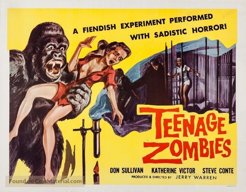 Teenage Zombies - Movie Poster